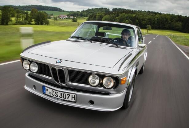 TIDSLØS: De lange, elegante skapningene med haikjeft og slanke takstolper er nesten arrogant vakre. Foto: BMW