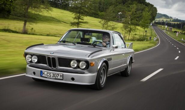 DEN HELLIGE GRAL 1265 eksemplarer ble laget av BMW 3.0 CSL. Kun 167 av dem kan kalle seg en ekte Batmobile. Foto: BMW