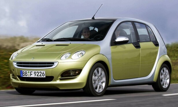 SMART FORFOUR: Foto: Press