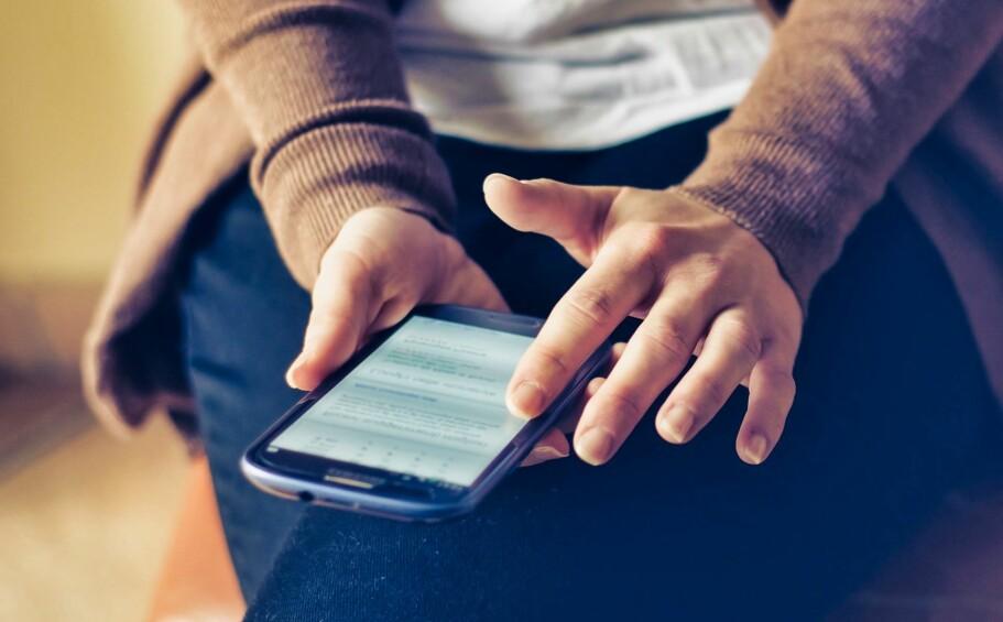 NESTEN SOM NY: Har du en eldre telefon, vil den brått føles kjappere om du kutter ned på animasjonene.