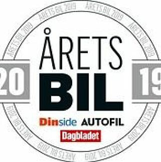 ÅRETS BIL: Autofil, Dagbladet og Dinside samarbeider om Norges eneste kåring av Årets bil. Kåringen har foregått siden 2009. Logo Jamieson Pothecary