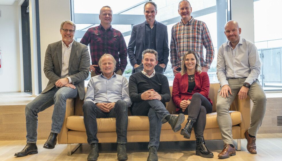 Disse bestemmer: Anders G. Hovde, Rune Korsvoll, Bård Eker, Rune M. Nesheim, Ståle Frydenlund, Børre Skiaker, Espen Stensrud og Molly Pettit. Foto: Jamieson Pothecary