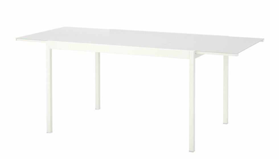<strong>TILBAKEKALLES:</strong> Det er et bord av modellen Glivarp som Ikea kaller tilbake. Foto: Ikea