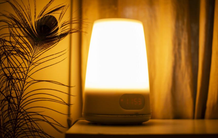 LYSTERAPI: Lampe mot vinterdepresjon. Foto: Emmaline Hekneby