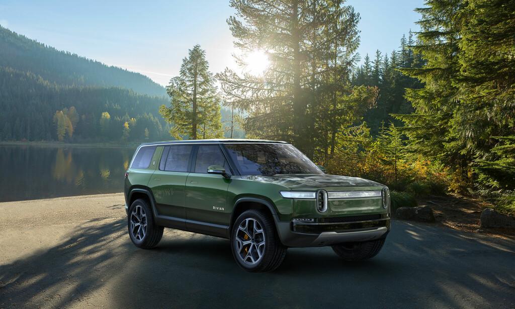 SPENNENDE: SUV-en Rivian R1S skal være på veien allerede i 2020. Foto: Rivian