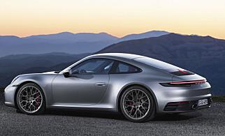 BODYBUILDING: Den mer muskuløse fremtoningen er i tråd med den kraftigere drivlinjen og de heftigere ytelsene. Foto: Porsche
