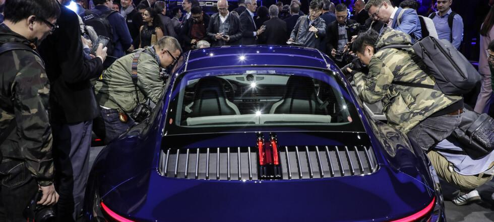 Åttende generasjon Porsche 911: - Helt unikt - og legendarisk