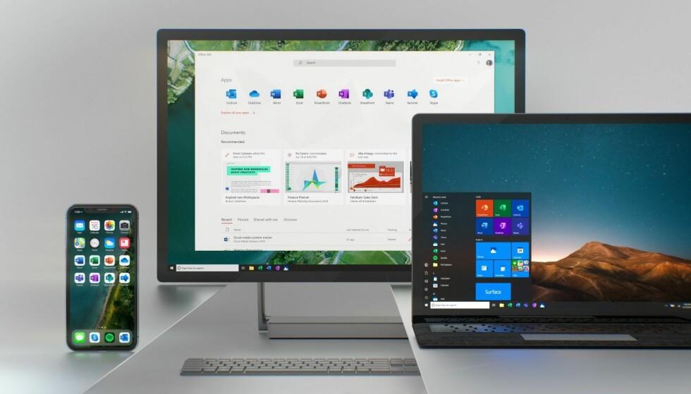 Oppdateringen vil gjelde på nett, mobil og på skrivebordet. Foto: Microsoft.