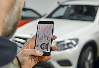 Nå kan førerkort-appen være på vei til Norge