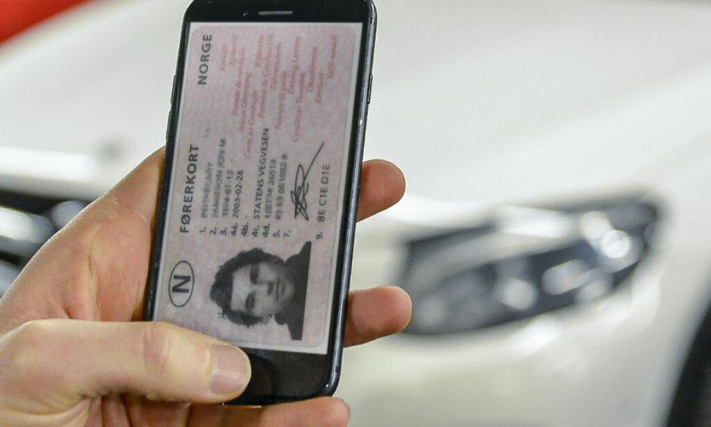 image: Nå kan førerkort-appen være på vei til Norge