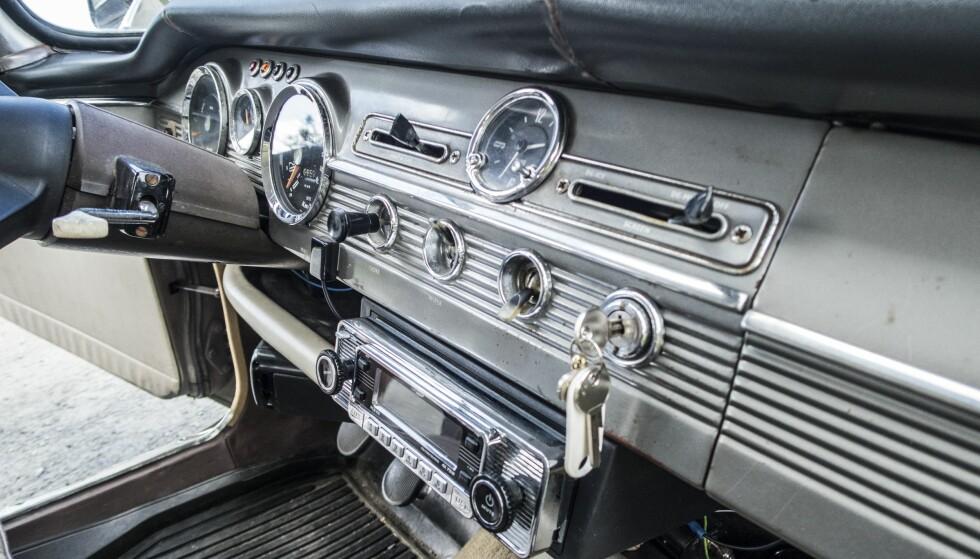 INGEN DAB-RADIO: Bare gode gamle FM-radio. Foto: Inger Nedberg