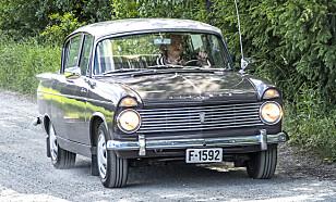 POPULÆR: Fra perioden etter andre verdenskrig og fram til 1960 ble det bygd rundt 860 000 Minx-biler som ble solgt rundt om i verden. Foto: Inger Nedberg