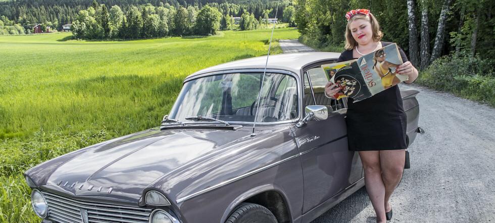 Marte fant kjærlighet ved første blikk - i en bil