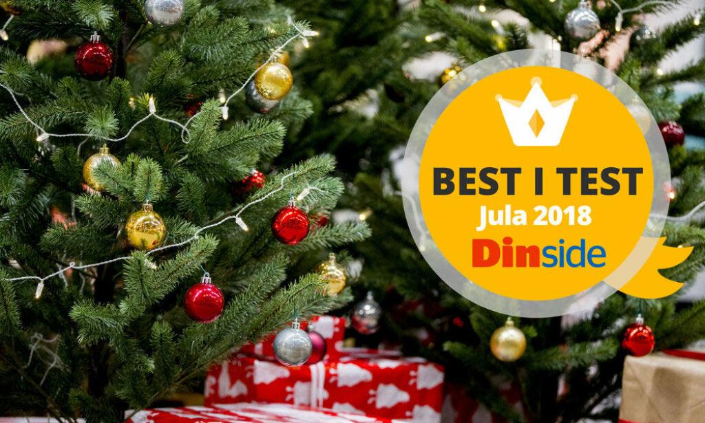 image: Store forskjeller på kunstige juletrær