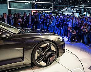image: Audi og Porsche samarbeider om ny elbil