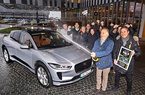 image: Jaguar I-Pace soleklar vinner