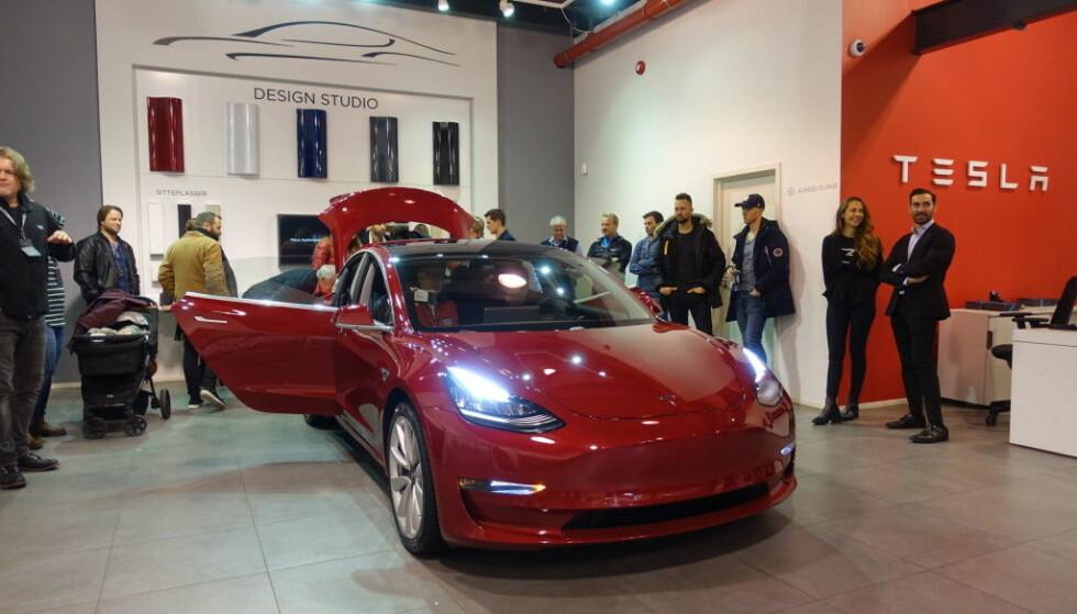 Tesla Model 3: Prisene klare
