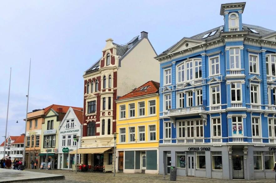 SVAKEST SISTE 12 MÅNEDER: Boligprisene i Bergen har den svakeste 12 måneders-veksten med en nedgang på 0,3 prosent. Foto: Bjørn Eirik Loftås