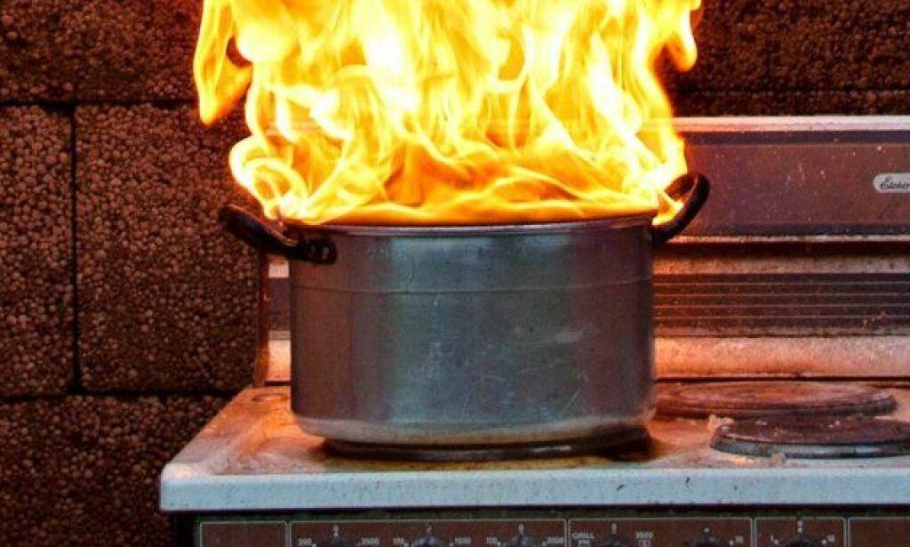 image: - Her bør du absolutt ikke bruke brannteppe