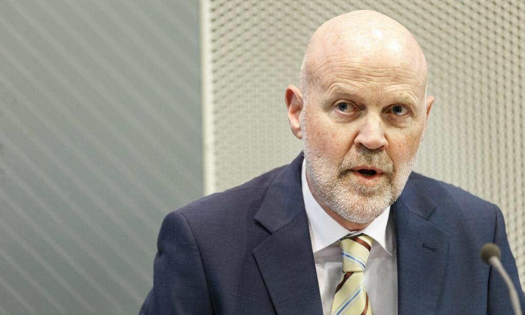 BEKYMRET: Direktør i Finanstilsynet, Morten Baltzersen, mener det er bekymringsverdig at gjeldsbelastningen i norske husholdninger stiger. Foto: Gorm Kallestad / NTB Scanpix