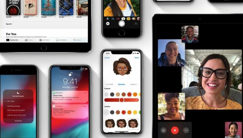 iOS 12: Nå kan du oppdatere iPhone og iPad med iOS 12.1.1. Foto: Apple.