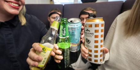 Alkoholsalget øker