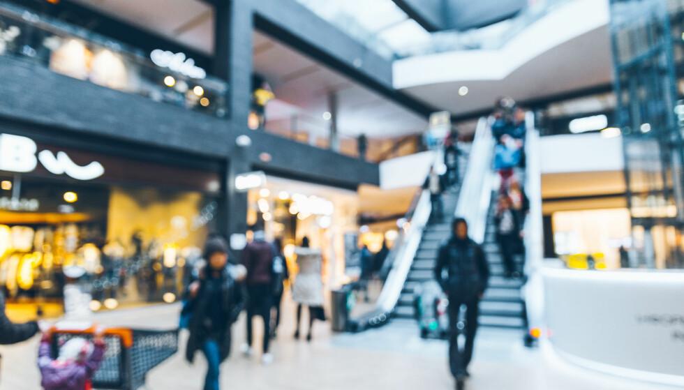 SHOPPEPAUSE: Virke mener nedgang i handelstallene viser at folk tar en liten pust i bakken etter black friday-uken. Foto: Shutterstock/NTB Scanpix.