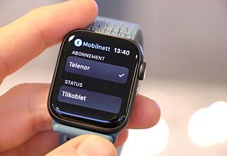 Endelig har Apple Watch med eSIM kommet til Norge