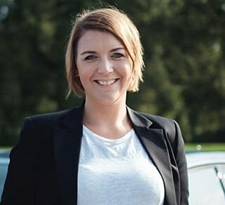 IKKE FORNØYD: Elbilforeningens generalsekretær Christina Bu. Foto: Norsk elbilforening