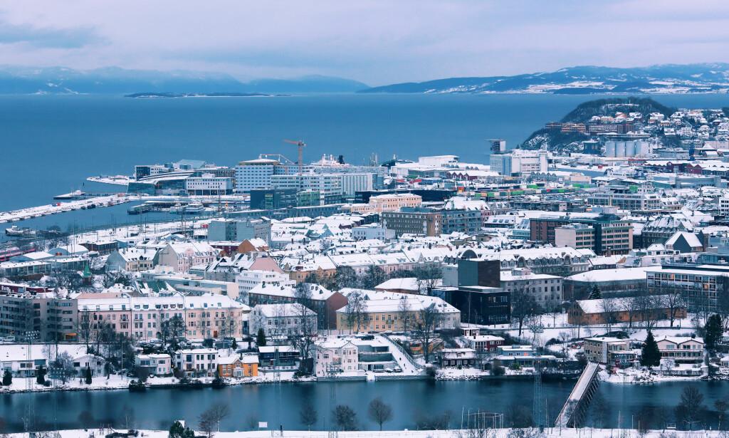 FLAT UTVIKLING: Eiendom Norge forventer at boligmarkedet i de største norske byene vil utvikle seg ganske likt som i 2018, altså tilnærmet nullvekst. Bildet viser Trondheim. Foto: Jelena Safronova/Shutterstock/NTB scanpix.