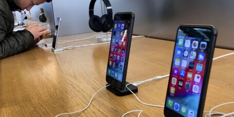 Kina forbyr salg av iPhone