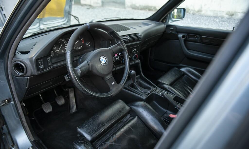 M5: Innsiden er som en litt oppjazza M5. Foto: Kaj Alver
