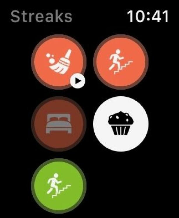 Streak er en smart app som kan hjelpe deg å få gjort ting i hverdagen. Skjermbilde: Kirsti Østvang