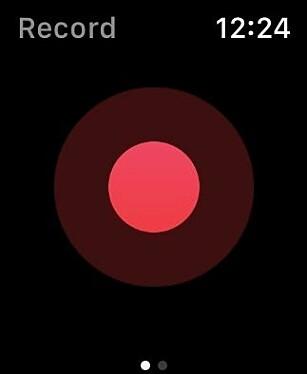 Det er ganske enkelt å begynne å bruke Just Press Record. Skjermbilde: Kirsti Østvang