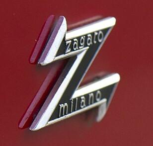 Z SLIKT: Ironisk nok var det ikke Zagato som tegnet Zagato, men de bygget den. Foto: Paal Kvamme