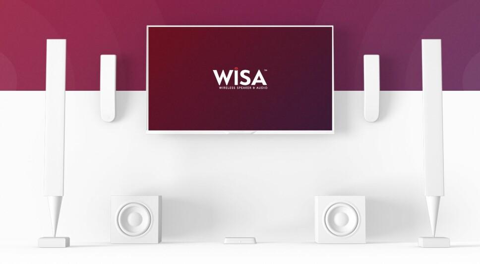 TRÅDLØS HJEMMEKINO: Den trådløse WiSA-standarden støtter lyd i inntil åtte kanaler og har minimal forsinkelse. Foto: Wisa