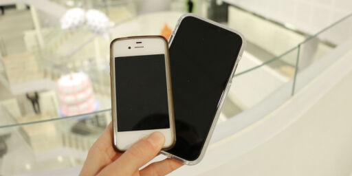 image: Slik er det å gå rett fra iPhone 4S til XR