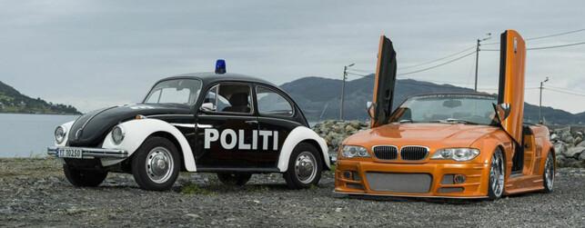 LITT KIS: Man må jo ha en sånn bil som ungdommen lika. Foto: Andre Kragset