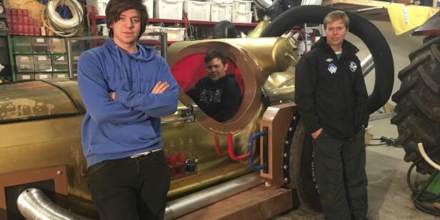 Erlend (24) bygde sin egen Il Tempo Gigante