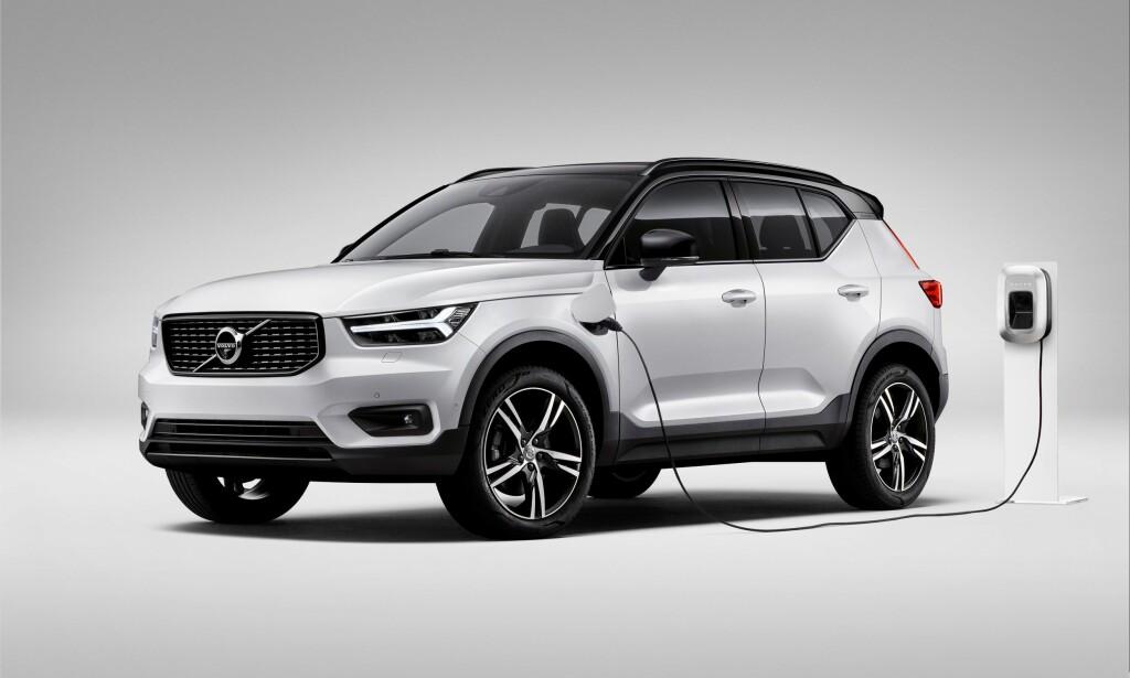 FØRSTE ELEKTRISKE: XC40 Electric blir Volvos første, rene elbil. Foto: Volvo