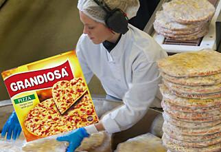 Nå skal pizzakjeden utfordre Grandiosa i frysedisken
