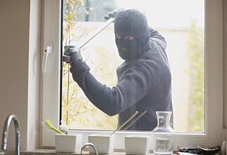 Her velger flest tyver å ta seg inn i boligen