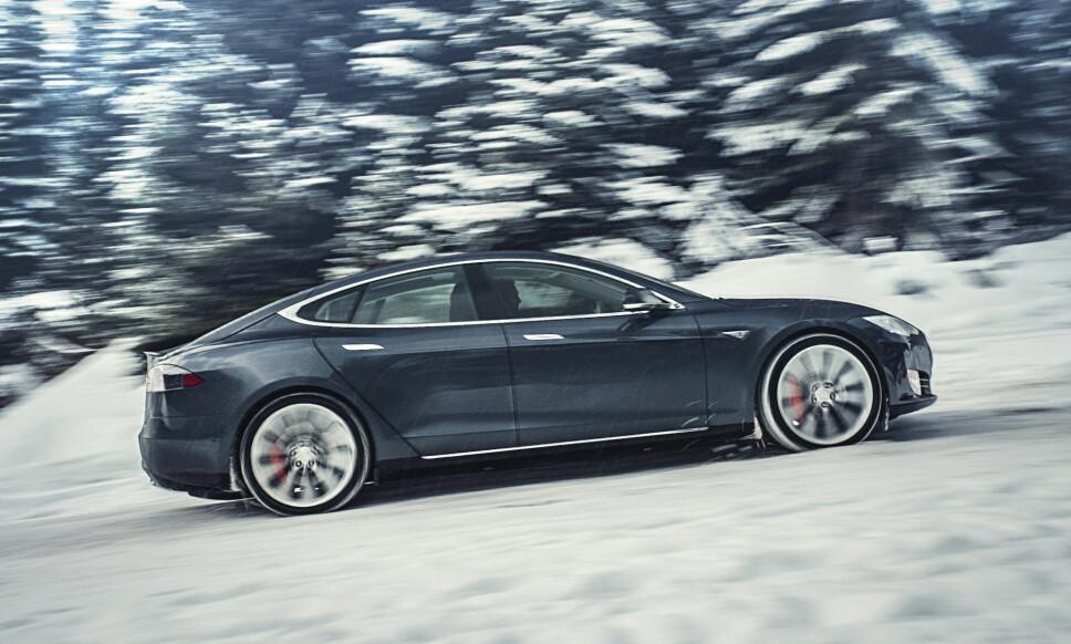 PRRRRRT: I den siste Tesla-oppdateringen har bilene fått en nokså uvanlig funksjon. Foto: Alexis Georgeson