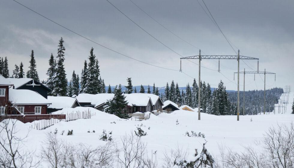 HØYESTE PRISER PÅ SJU ÅR: Energi Norge opplyser at strømprisene kommer til å forbli høye utover vinteren. Foto: NTB Scanpix
