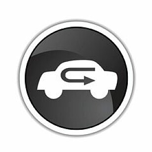 RESIRKULERER LUFT: Se etter knappen med dette eller lignende symbol. Ill: Shutterstock