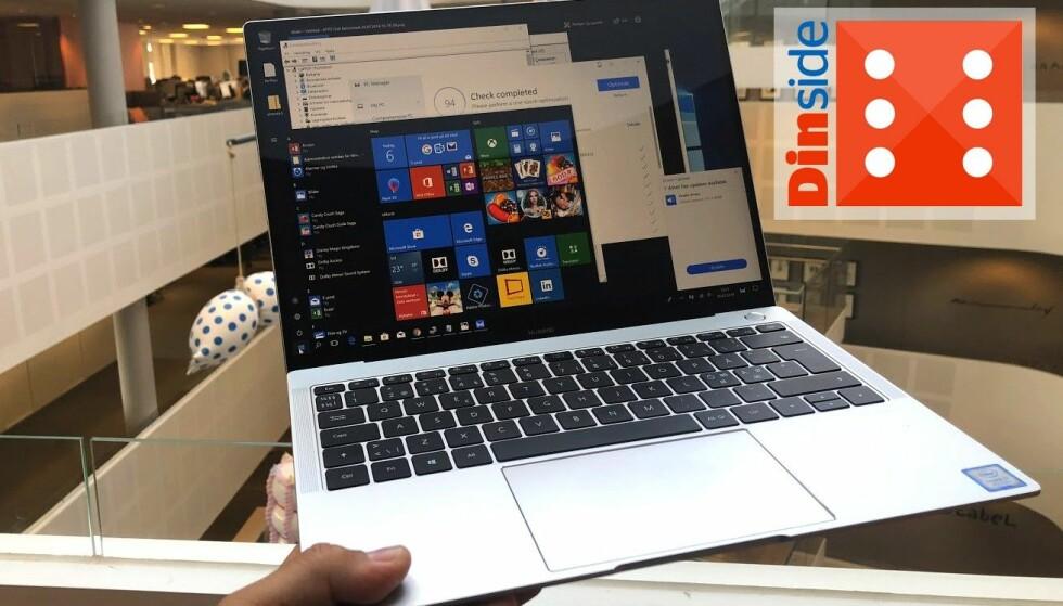 Huawei har fått alvor kommet seg inn i PC-bransjen. Foto: Bjørn Eirik Loftås.