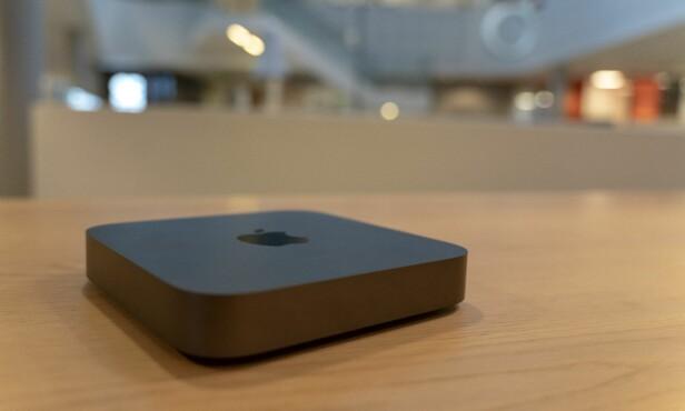 Mac mini har egentlig ingen ordentlige PC-konkurrenter. Foto: Marin Kynningsrud Størbu