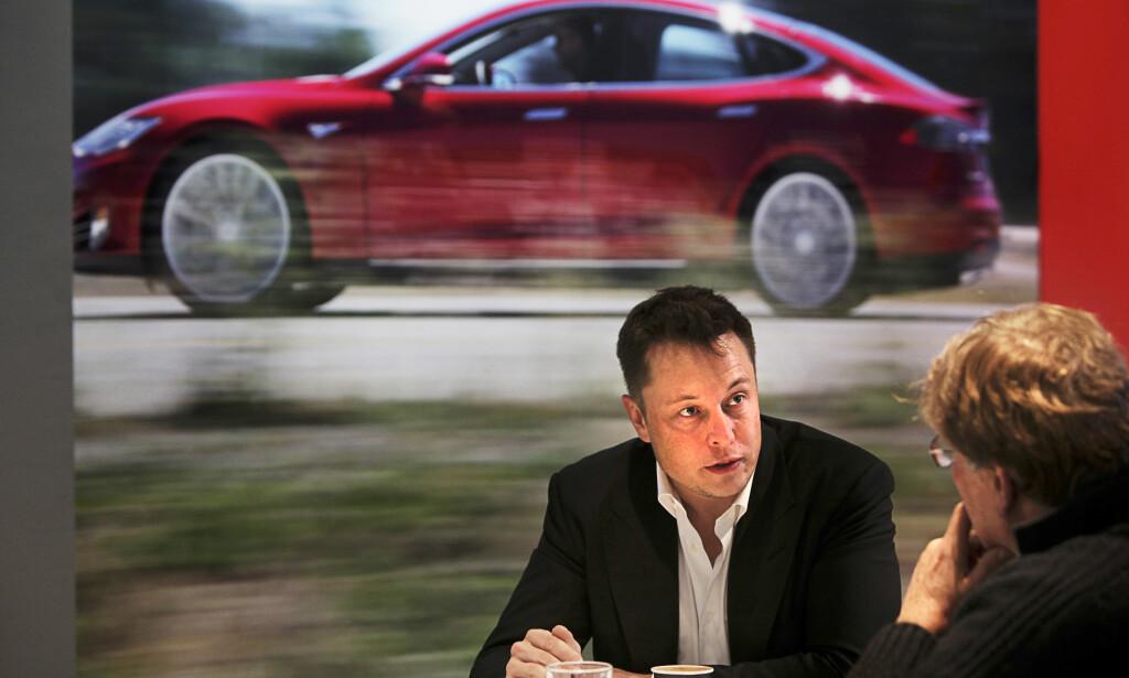 - IDIOTER: Elon Musk snakker rett fra levra og er ikke alltid like imponert av konkurrentene. Foto: NTB Scanpix