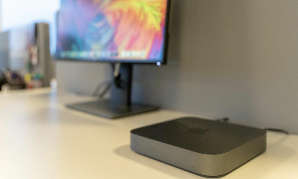 LEKKER: Mac mini er oppdatert for første gang på fire år. Foto: Martin Kynningsrud Størbu