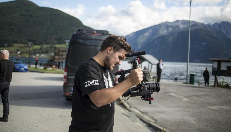 MINNESKAPER: Fredrik Espeland filmet hele turen under sitt produksjonsfirma NGM. Foto: Dave Cox